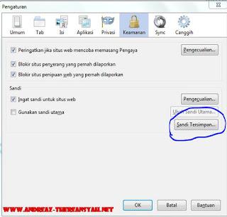 Cara Melihat Password Yang Tersimpan Di Mozilla Firefox