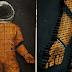 Artista cria quadro com 5 mil parafusos para homenagear o primeiro homem no espaço