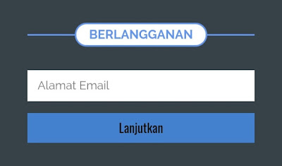 Cara Membuat Widget Form Berlangganan di Footer Blogspot