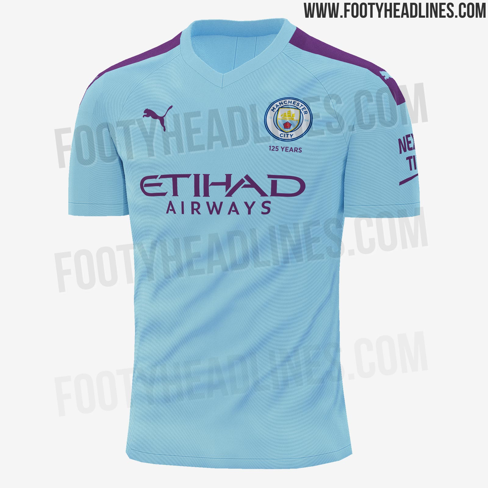 Home Kit Leak Confirmed - Puma Manchester City 19-20
