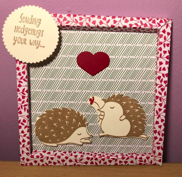 Stampin for All Challenge  Nigezza Creates Valentines