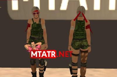 MTA SA Christie Army Skin