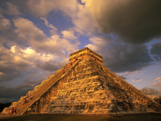 Know More About 7 Wonders of the World | Pyramid at Chichén Itzá Yucatan Peninsula, Mexico