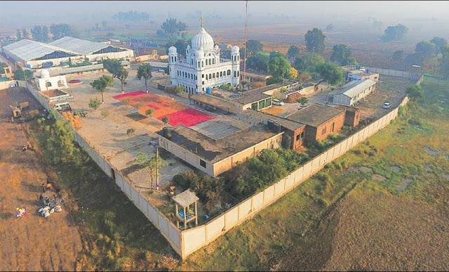 kartarpur gurudwara corridor inaugurated by Imran khan
