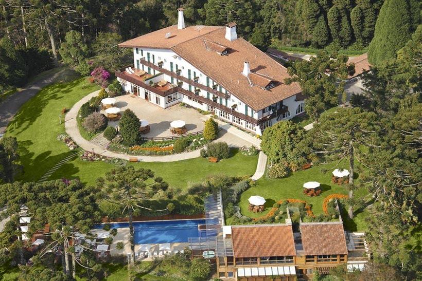 Hotel Toriba - Campos do Jordão - SP - Gramado e Campos do Jordão têm os melhores hotéis do Brasil