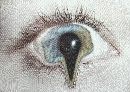 occhio, allucinazione