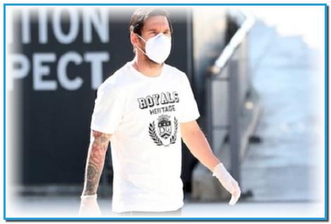 ميسي يغيب عن اختبارات كورونا في برشلونة ويؤكد قرار رحيله