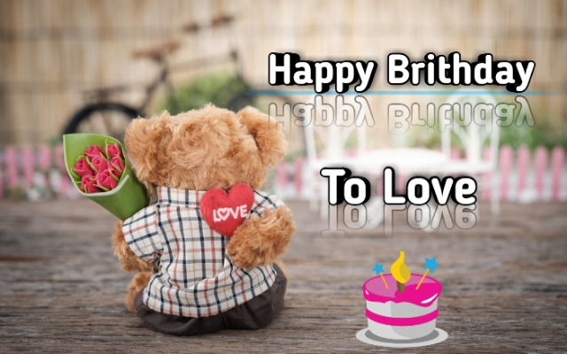 Wishing Brithday for Grilfriend