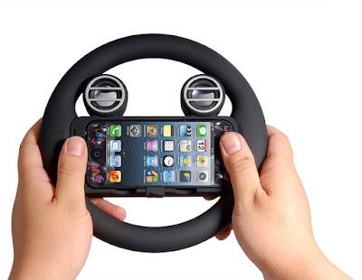 iPhone Steering Wheel