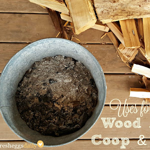 Diy wine barrel nesting box fresh eggs daily for Is wood ash good for the garden