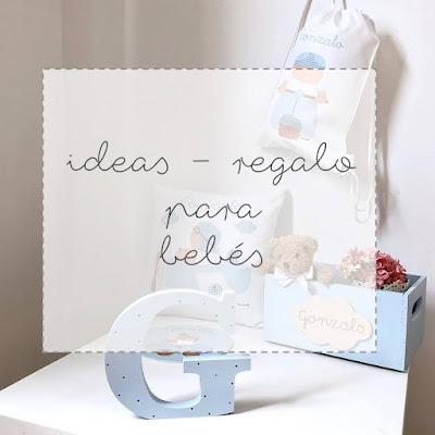 ideas regalo para bebés, babyshower y canastillas de nacimiento