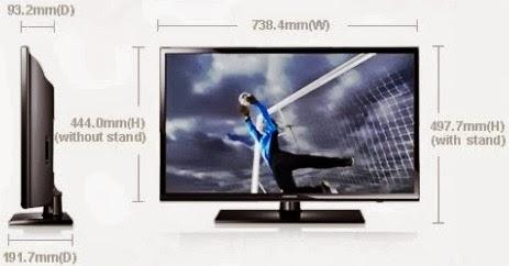 Harga TV LED Samsung UA32EH4003 32 inch