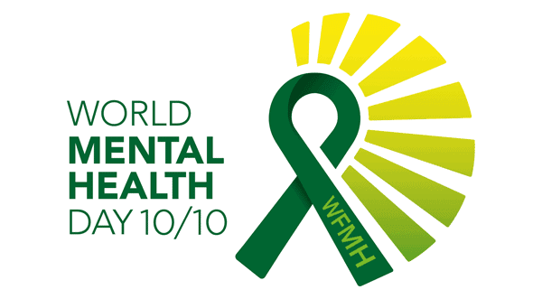 world mental health day logo 2020