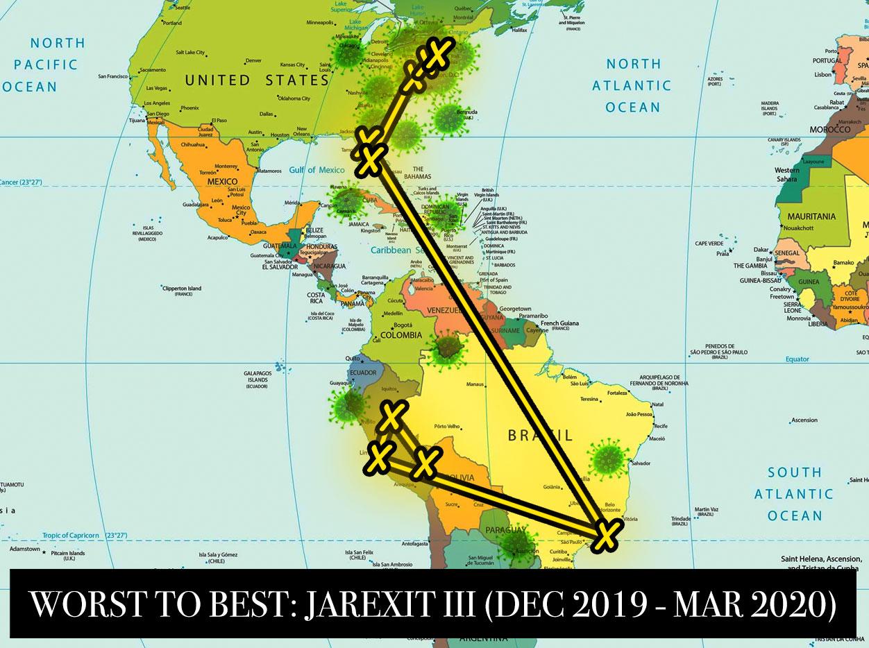 Worst to Best: Jarexit II (July 2019 - December 2019)