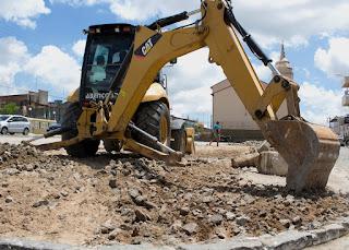 Prefeitura de Sairé inicia obra de construção da Praça do Conhecimento