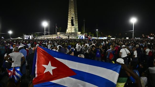 Massive Fidel Castro tribute rally held in Cuba's Havana