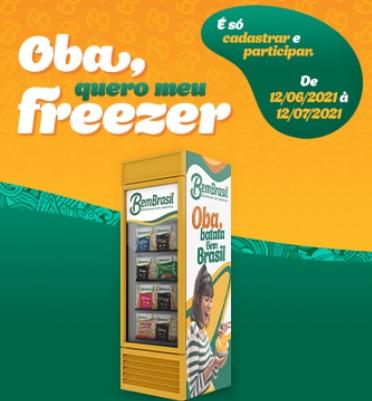 Promoção Quero Meu Freezer Bem Brasil