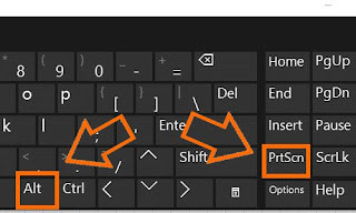 Cara screenshot Windows 10