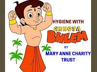 Weekly Children Program - Hygiene with chhota Bheem - 01.09.2019
