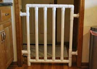 Ideas con tubos de PVC - corral para niños