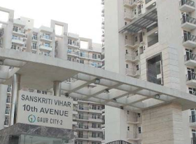 Ready to Move 1 BHK Flat for Rent & Sale Near Gaur City  Noida,Noida Extension