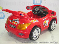 PMB M2018W Speed Mob Rechargeable-battery Operated Toy Car