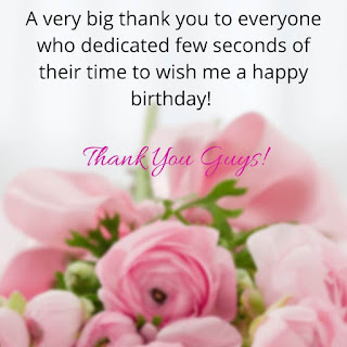 Happy bday Reply back Images