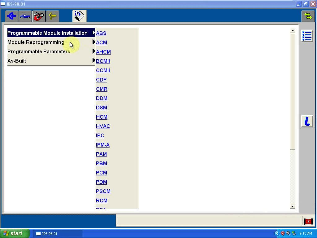 How to install Ford IDS V98 in Windows XP(free download ids