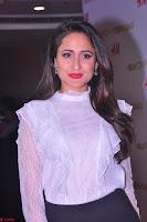 Pragya Jaiswal in lovely Black Mini Skirt and White Transparent Shirt ~  Exclusive 027.JPG