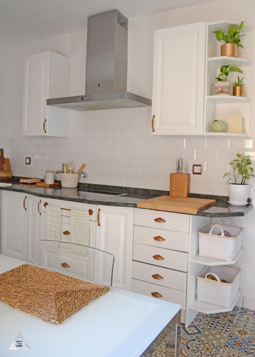 pintar muebles cocina en blanco
