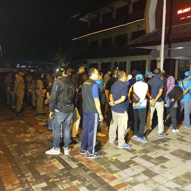 Tim Gabungan Operasi Narkotika Gelar Razia membuahkan Hasil