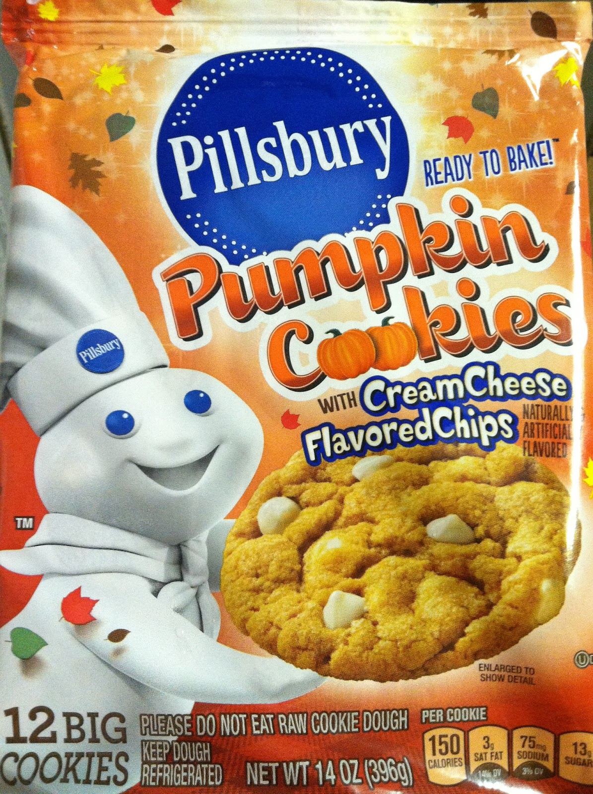 The Holidaze: Pillsbury Pumpkin Cookies