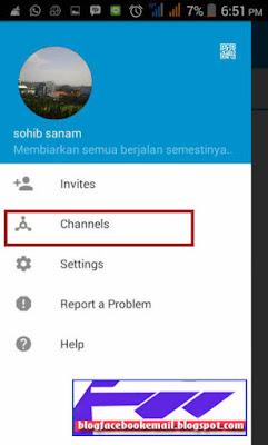 cara membuat channel BBM