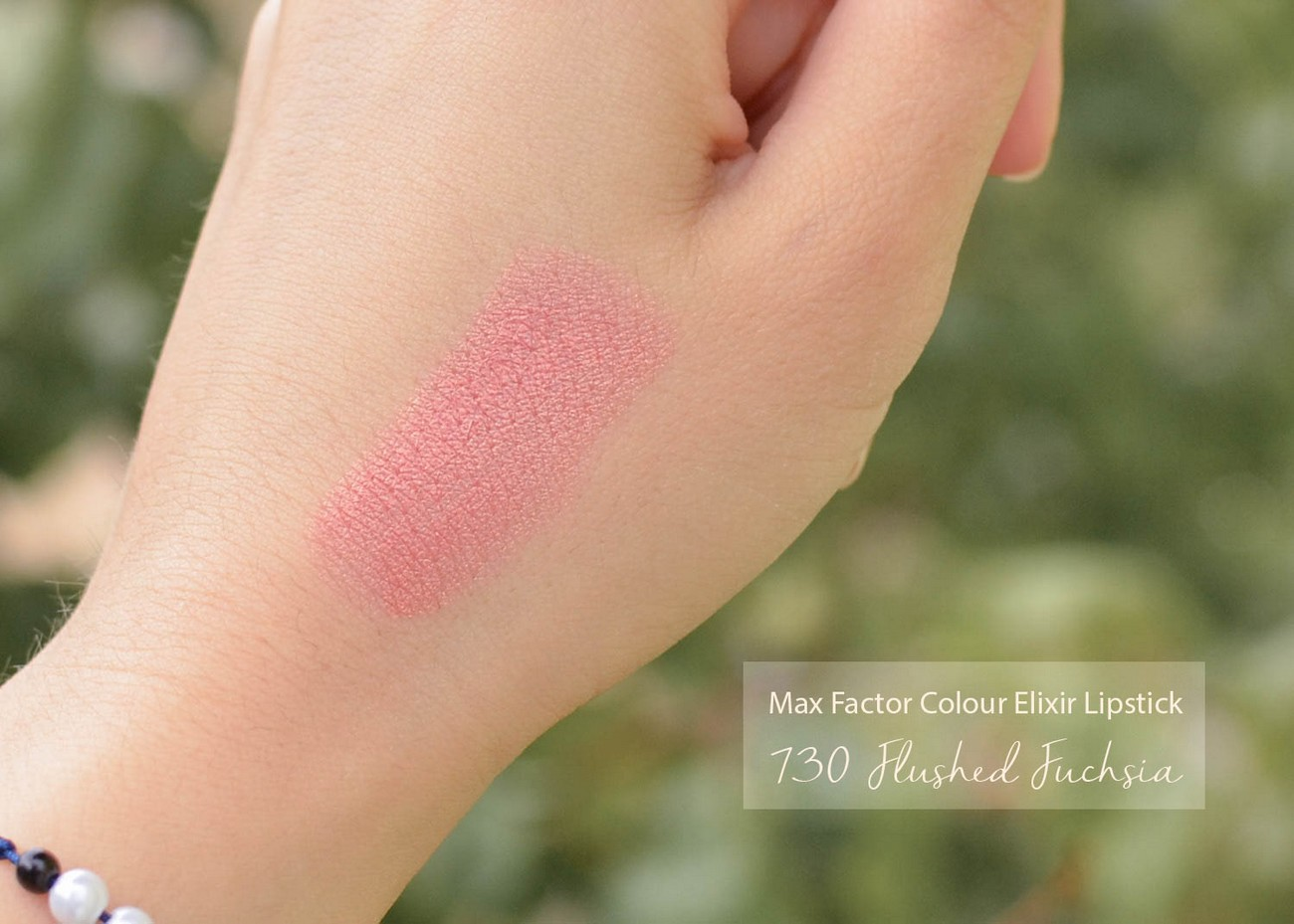 Max Factor Color Elixir Lipstick 730 Flushed Fuchsia