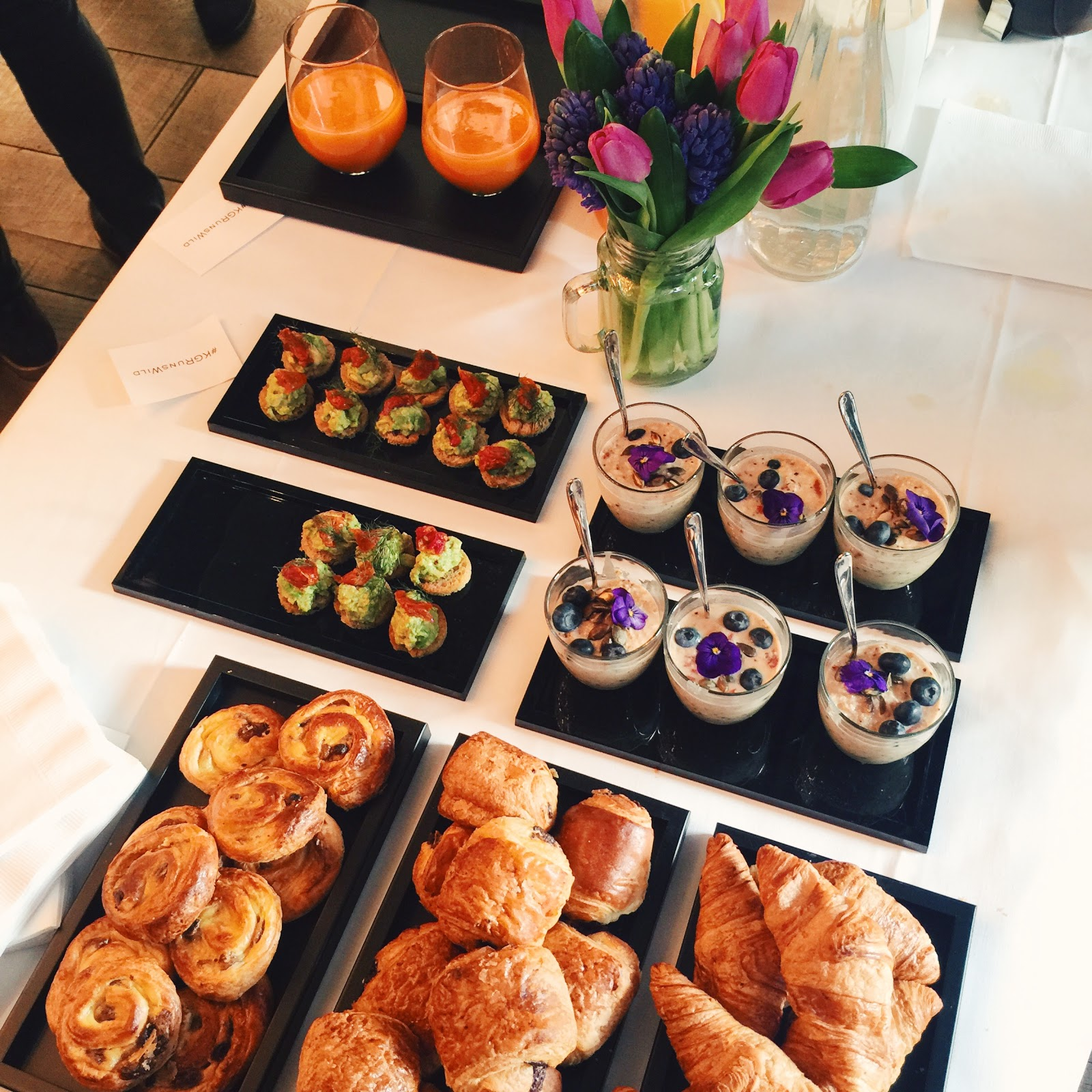 BREAKFAST AT KURT GEIGER EVENT
