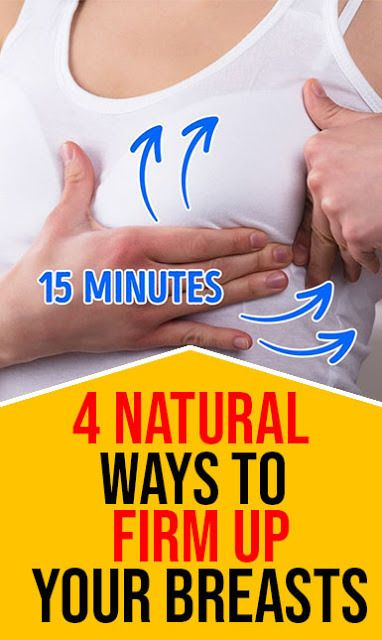 4 Natural Ways To Firm Up Your Breasts