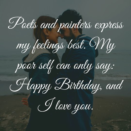 Birthday Messages for Wife and Husband