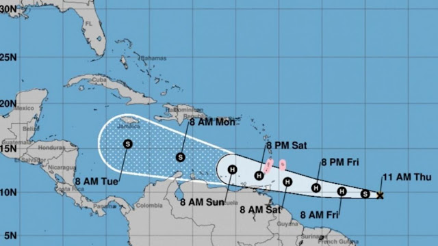 hoyennoticia.com, 'Gonzalo' causará fuertes lluvias este fin de semana en la costa caribe colombiana