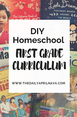 DIY First Grade Homeschool Curriculum - TheDailyAprilNAva