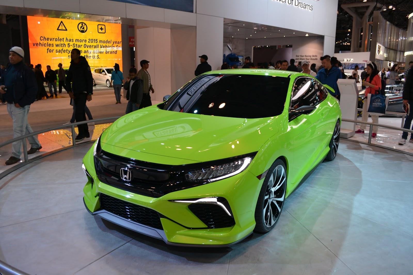 Honda Civic. Ежегодное автошоу в Нью-Йорке - 2015 (New York International Auto Show - 2015)