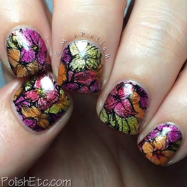Ellagee - Brunch with Unicorns - McPolish - lead lighting floral