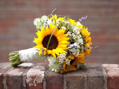 hoa cuoi huong duong