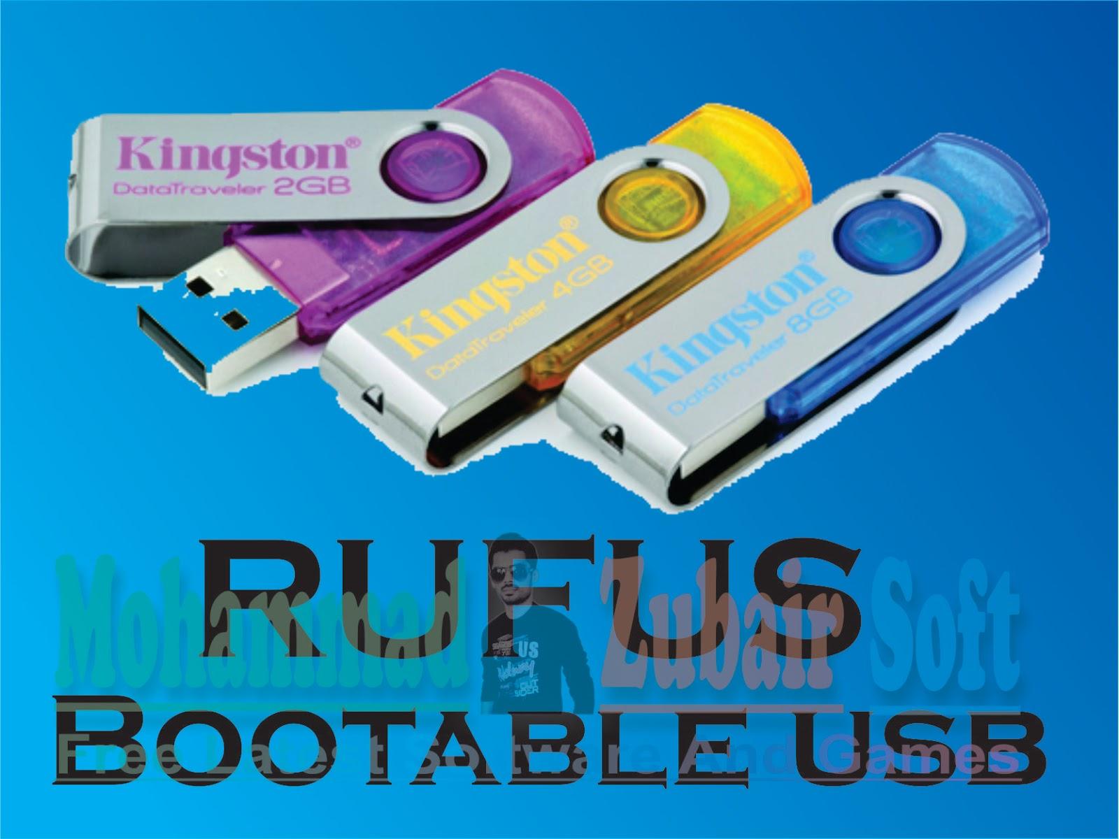 rufus windows 7 bootable usb download