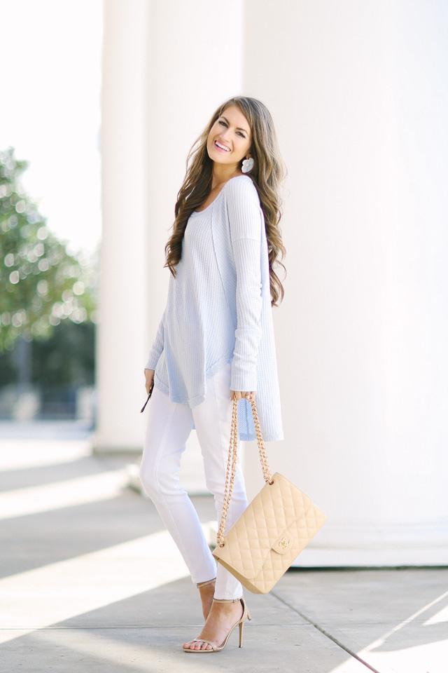 Dresses winter white pants