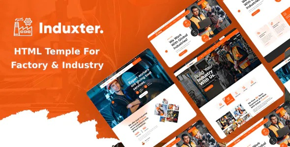 Best Industry And Factory HTML Template