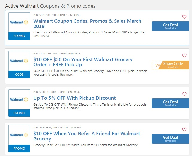 Walmart Promo Codes 50 Off Entire Order Millions Of Products On Sale With Walmart Coupon Codes