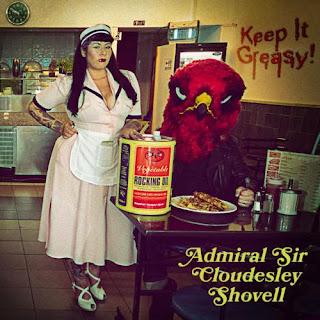 """Το τραγούδι των Admiral Sir Cloudesley Shovell """"Tired 'N' Wired"""" από τον δίσκο """"Keep It Greasy!"""""""