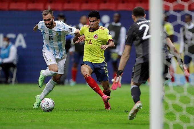 ¡Nos ganaron de boca! Colombia lo tuvo ante Argentina, pero por la vía de los penales le dijo adiós a la gran final de la Copa América 2021