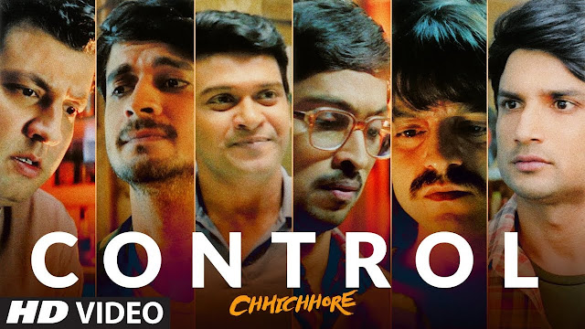 CONTROL SONG LYRICS IN HINDI - CHHICHHORE