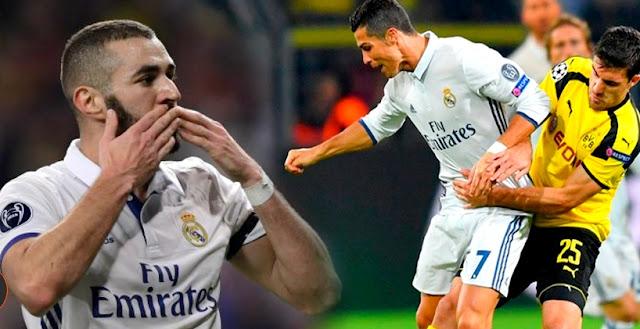 Real Madrid empató con Borussia Dortmund y terminó como segundo de Grupo F